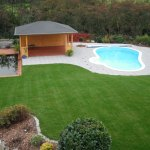 La piscine forme haricot Aquadiscount