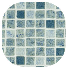 Liner piscine Persia Gris bleu - Aquadiscount