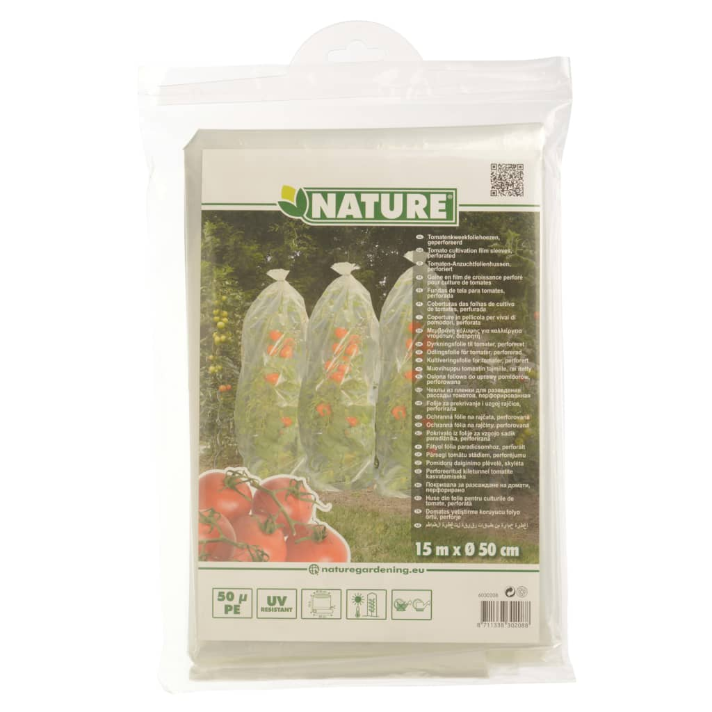 Nature Folie pentru acoperirea tomatelor, 1500 x 50 cm