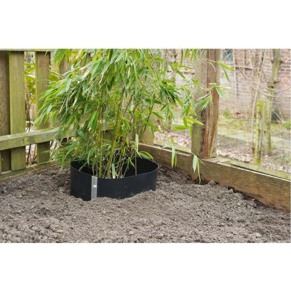 Nature Folie împotriva rădăcinilor, 0,7 x 3m HDPE negru 6030226