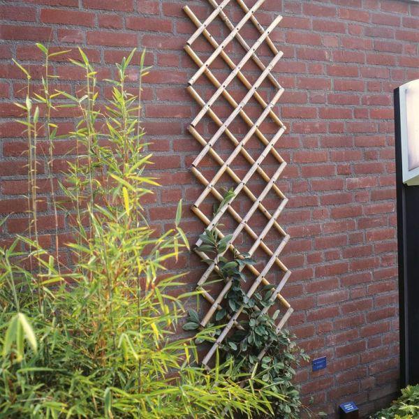 Nature Spalier de grădină, 100×200 cm Bambus, 6040722