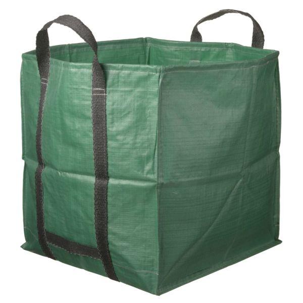 Nature Sac de deșeuri pentru grădină, verde, 252 L, pătrat, 6072405