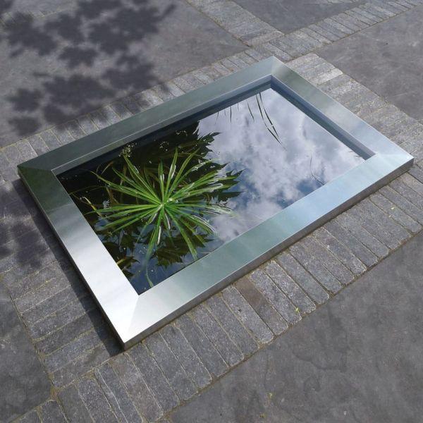 Cadru de piscină Ubbink Quadra C3 din oțel inoxidabil