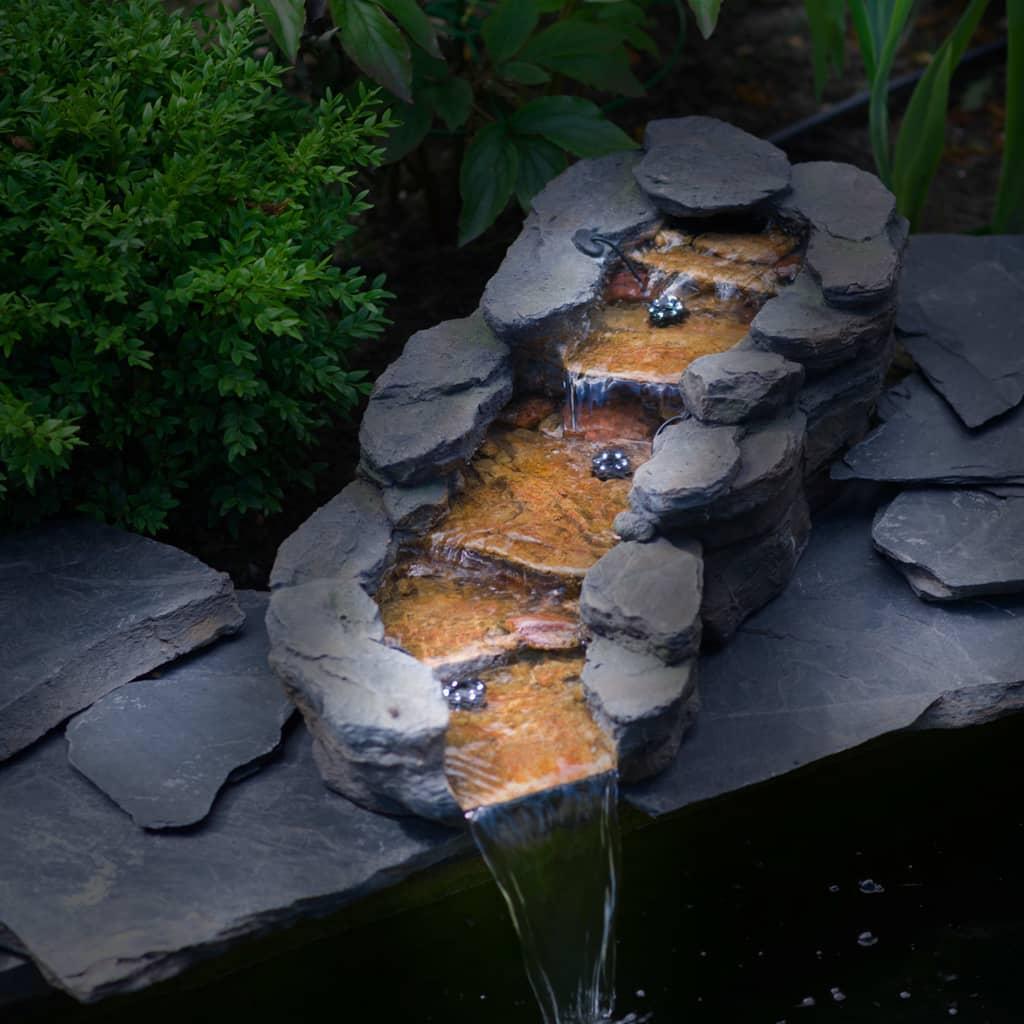 Ubbink Cascadă de grădină pe stânga, CAZORLA