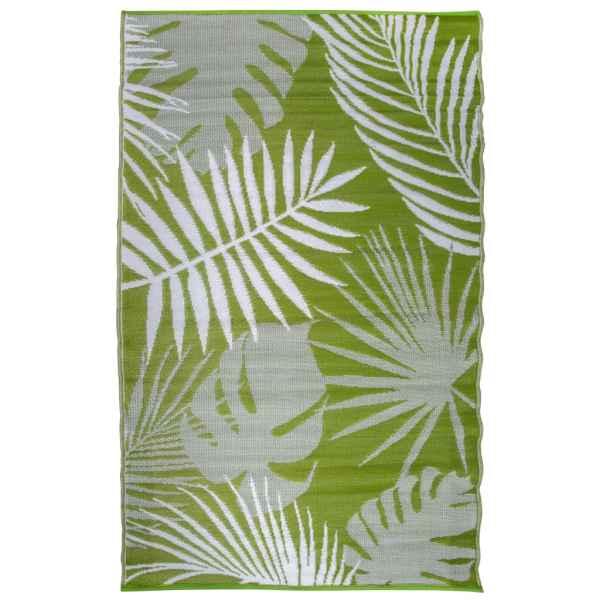 Esschert Design Covor de exterior, 241×152 cm, frunze junglă, OC22