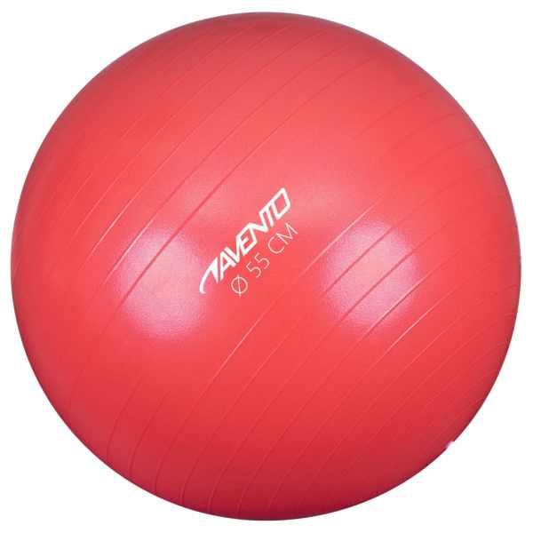 Avento Minge de fitness/gimnastică, roz, diam.55 cm