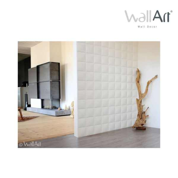WallArt Lambriuri de perete 3D cuburi,12 buc. GA-WA07