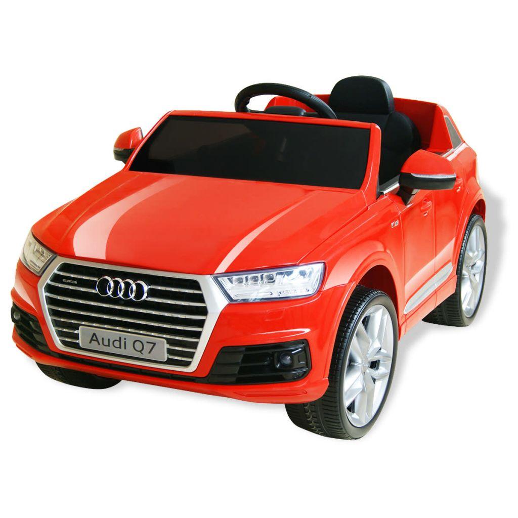vidaXL Mașinuță electrică Audi Q7, roșu, 6 V