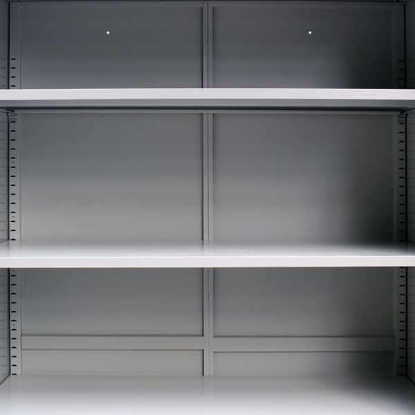 vidaXL Dulap de birou cu 2 uși din oțel 90x40x180 cm, gri