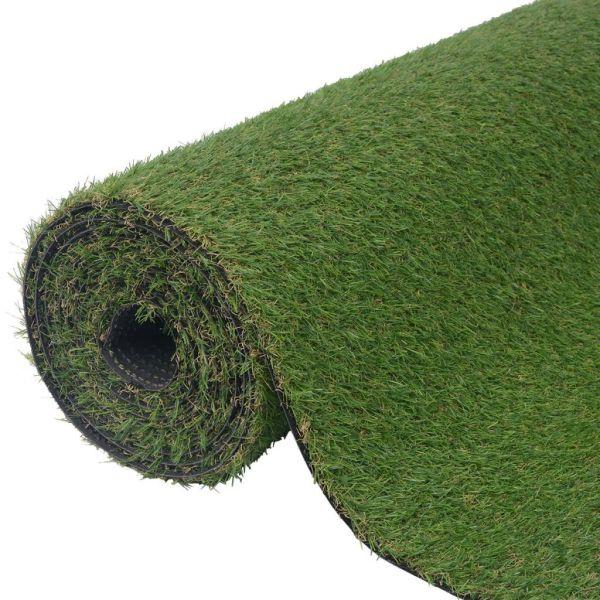 vidaXL Gazon artificial, 1,5 x 10 m/20-25 mm, verde