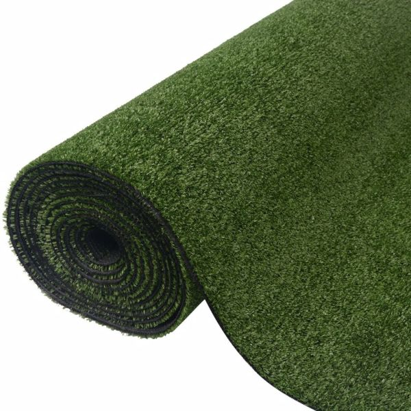 vidaXL Gazon artificial, 1 x 25 m/7 – 9 mm, verde