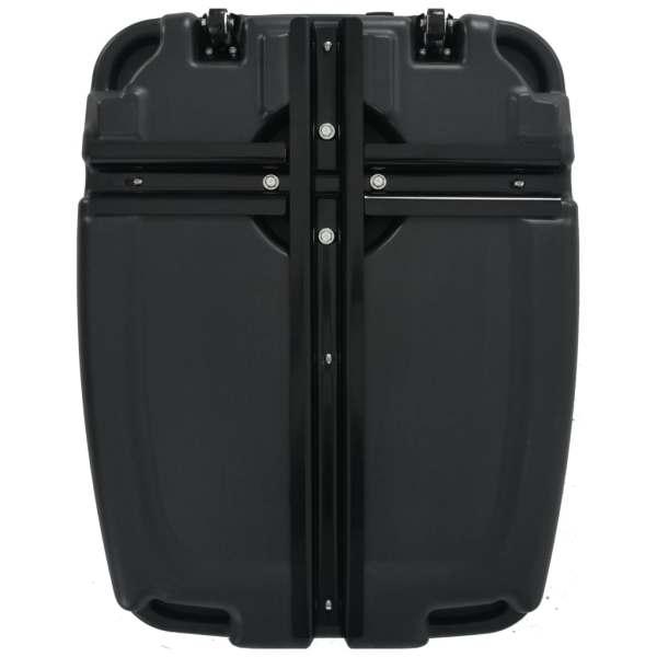 vidaXL Suport umbrelă de exterior, negru