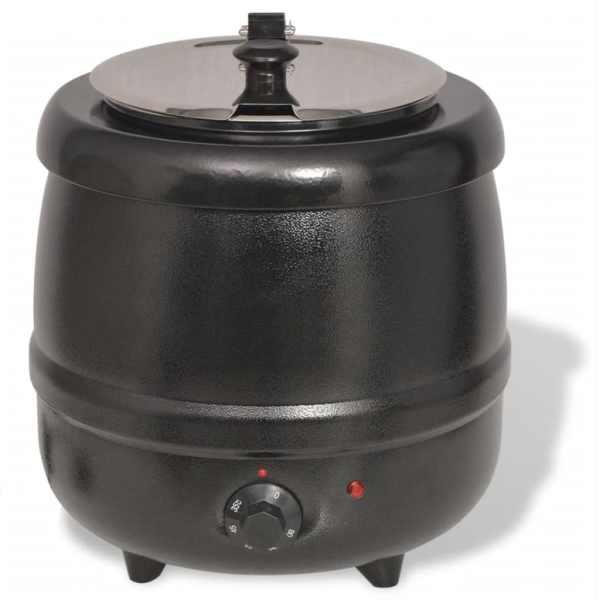 vidaXL Fierbător electric pentru supă, 10 L