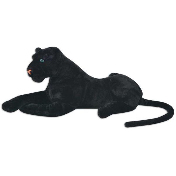 Panteră de jucărie din pluș, negru, XXL