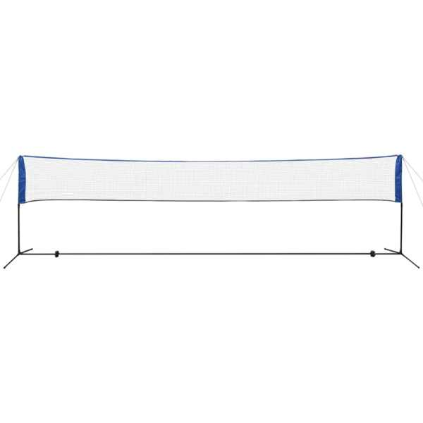vidaXL Fileu de badminton cu fluturași, 600 x 155 cm