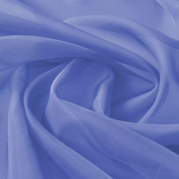 vidaXL Țesătură de voal 1,45 x 20 m, albastru regal