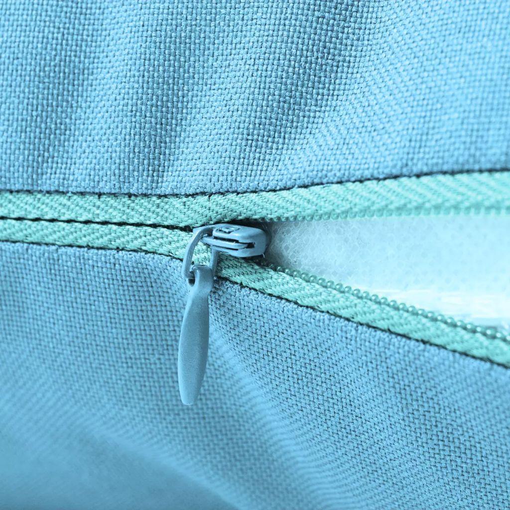 Perne de exterior, 4 buc., albastru deschis, 60 x 40 cm