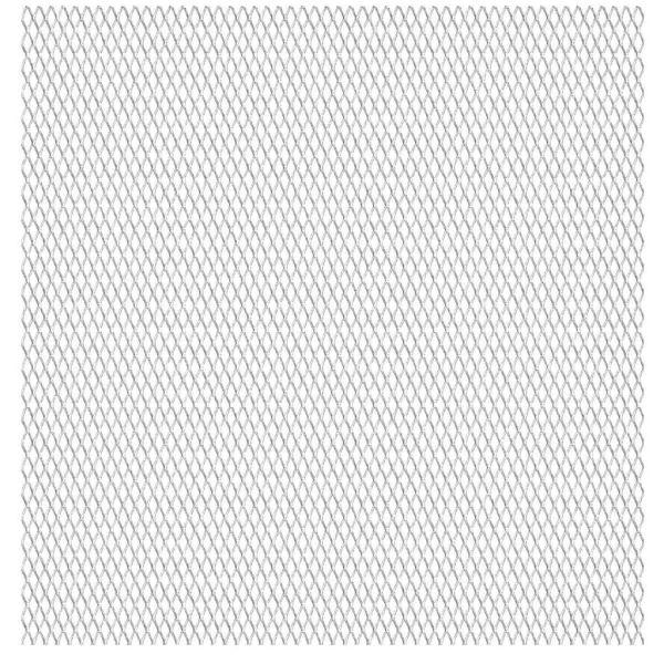 vidaXL Gard de sârmă grădină, 100×85 cm, 45x20x4 mm, oțel inoxidabil