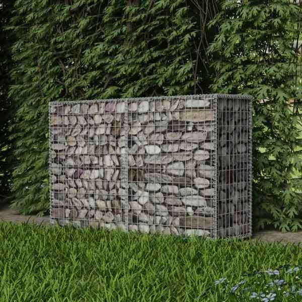 vidaXL Coș gabion, 150 x 50 x 100 cm, oțel galvanizat