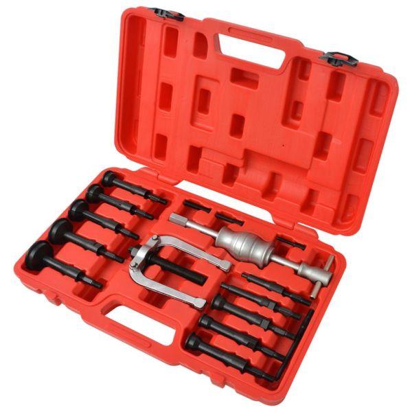 210372 vidaXL Set extractor rulmenți 16 buc.