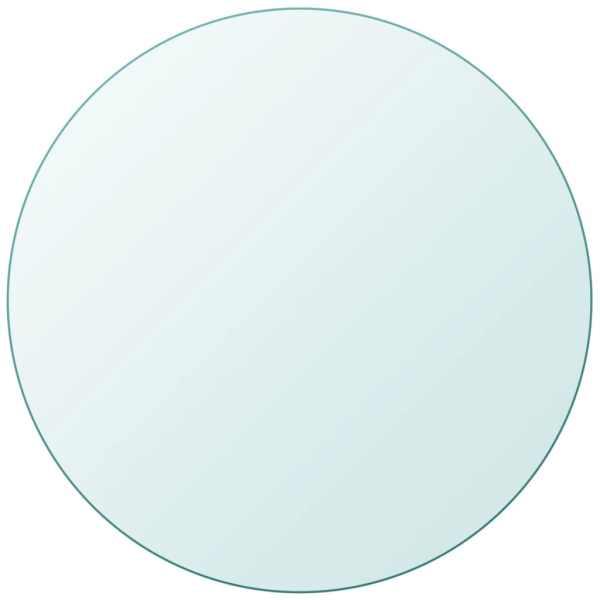 vidaXL Blat masă din sticlă securizată rotund 700 mm