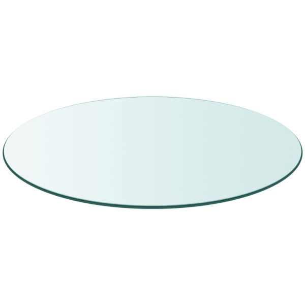 Blat masă din sticlă securizată rotund 900 mm