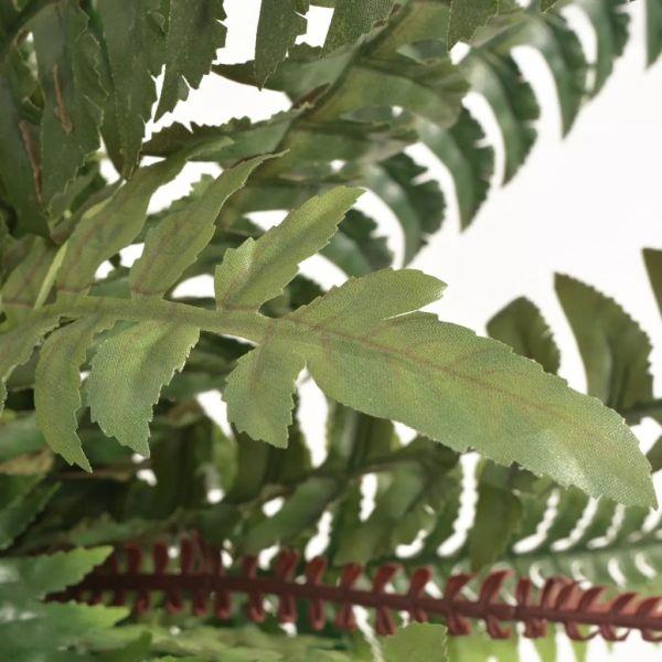 Ferigă artificială cu ghiveci, 60 cm, verde