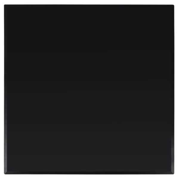 vidaXL Blat de masă din sticlă securizată, pătrat, 700 x 700 mm