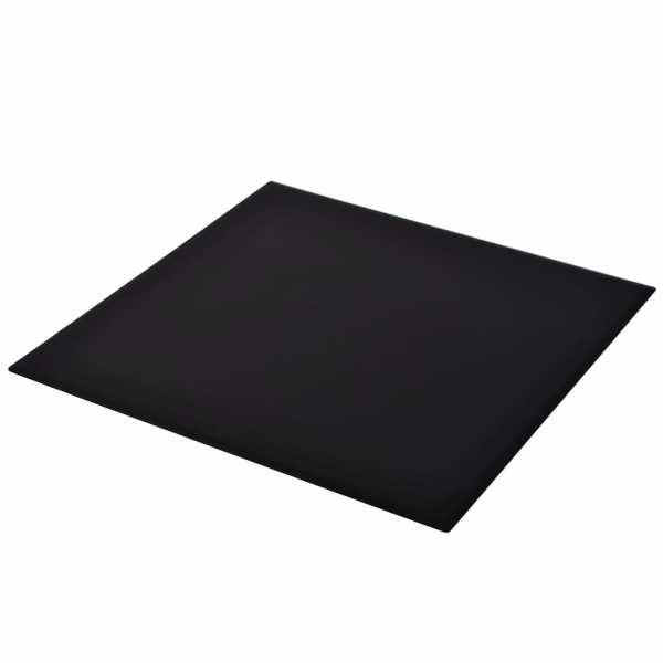 Blat de masă din sticlă securizată, pătrat, 800 x 800 mm