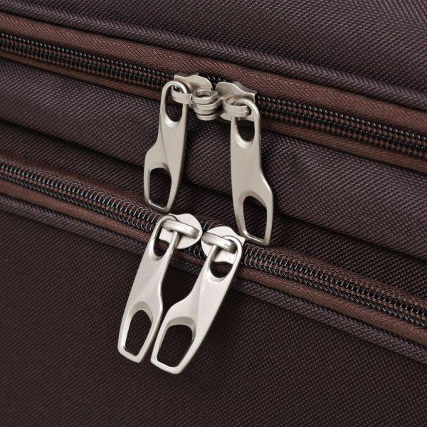 Set de valize, 3 buc., Cafeniu