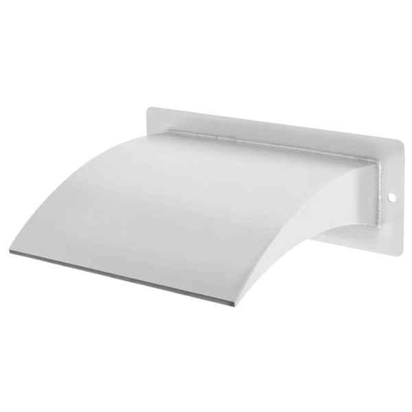 vidaXL Fântână de piscină, argintiu, 30x9x26 cm, oțel inoxidabil