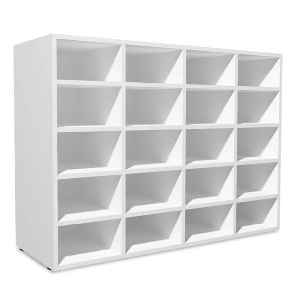 vidaXL Pantofar, alb, 92 x 30 x 67,5 cm, PAL