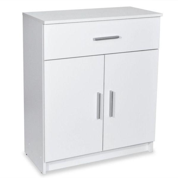vidaXL Bufet din PAL 71 x 35 x 88 cm, alb