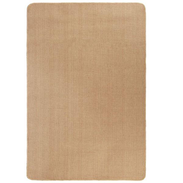 vidaXL Covor de iută cu spate din latex, 80 x 160 cm, natural