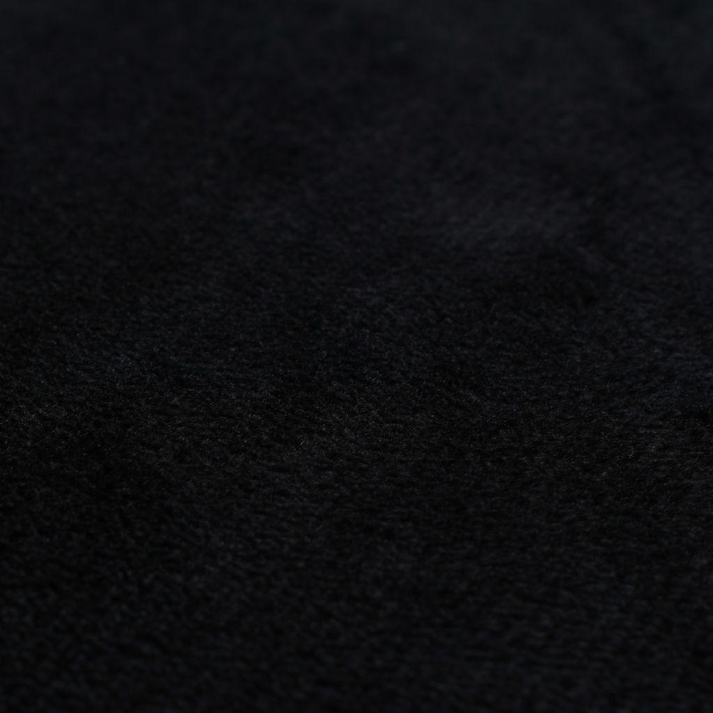 Huse de perne decorative 4 buc. Velur 80×80 cm Negru