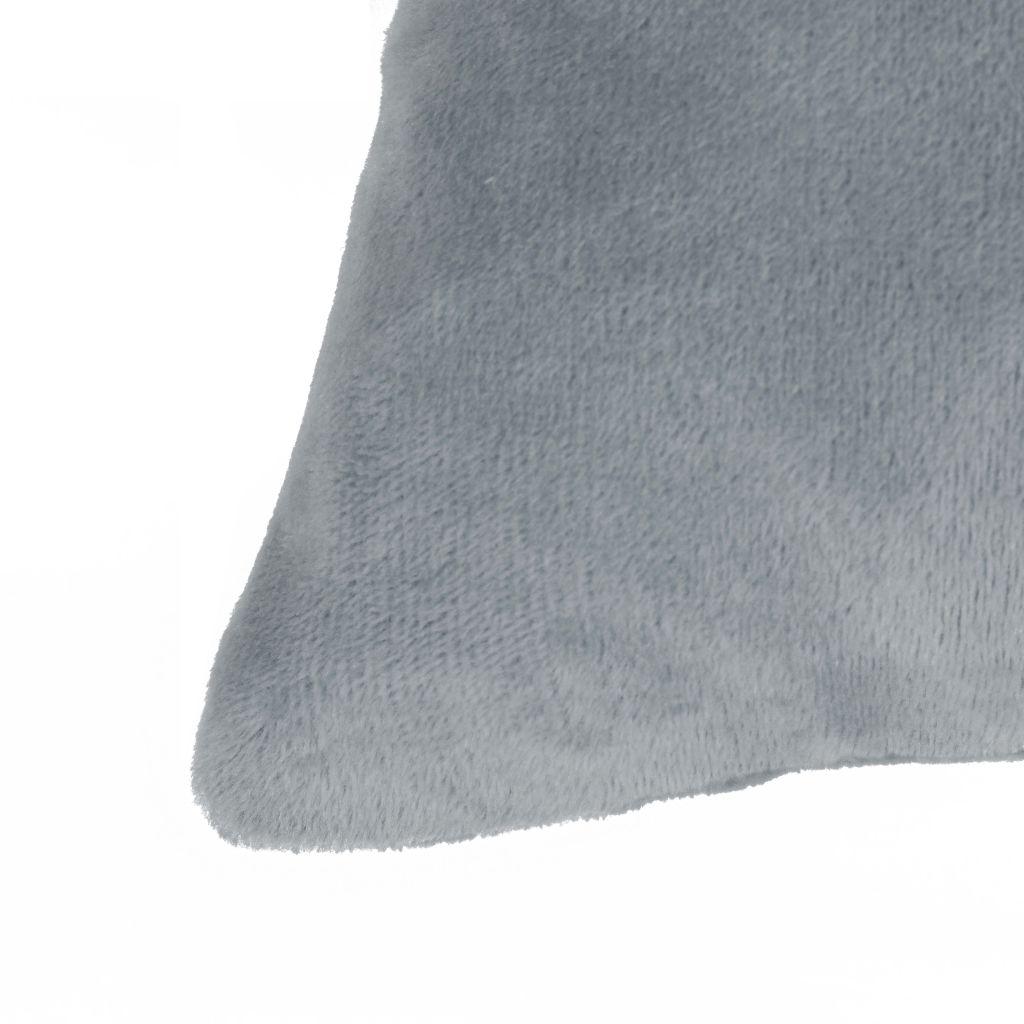 vidaXL Set perne decorative 2 buc, velur 45 x 45 cm, gri
