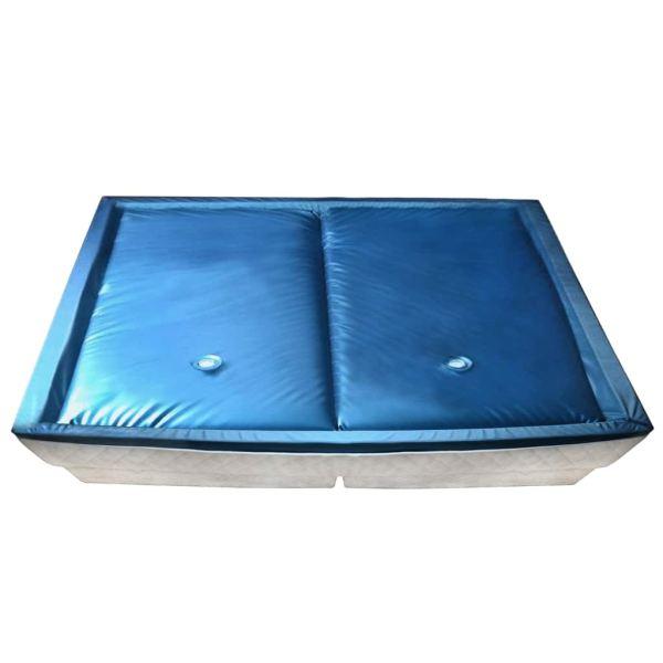 vidaXL Set saltea pat cu apă cu căptușeală și separator 200×220 cm F3