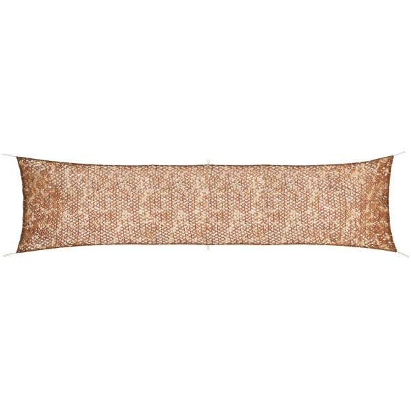 vidaXL Plasă de camuflaj cu geantă de depozitare, 1,5 x 7 m