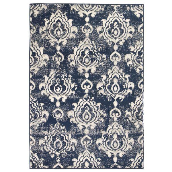 vidaXL Covor modern Design Paisley 120 x 170 cm Bej/albastru