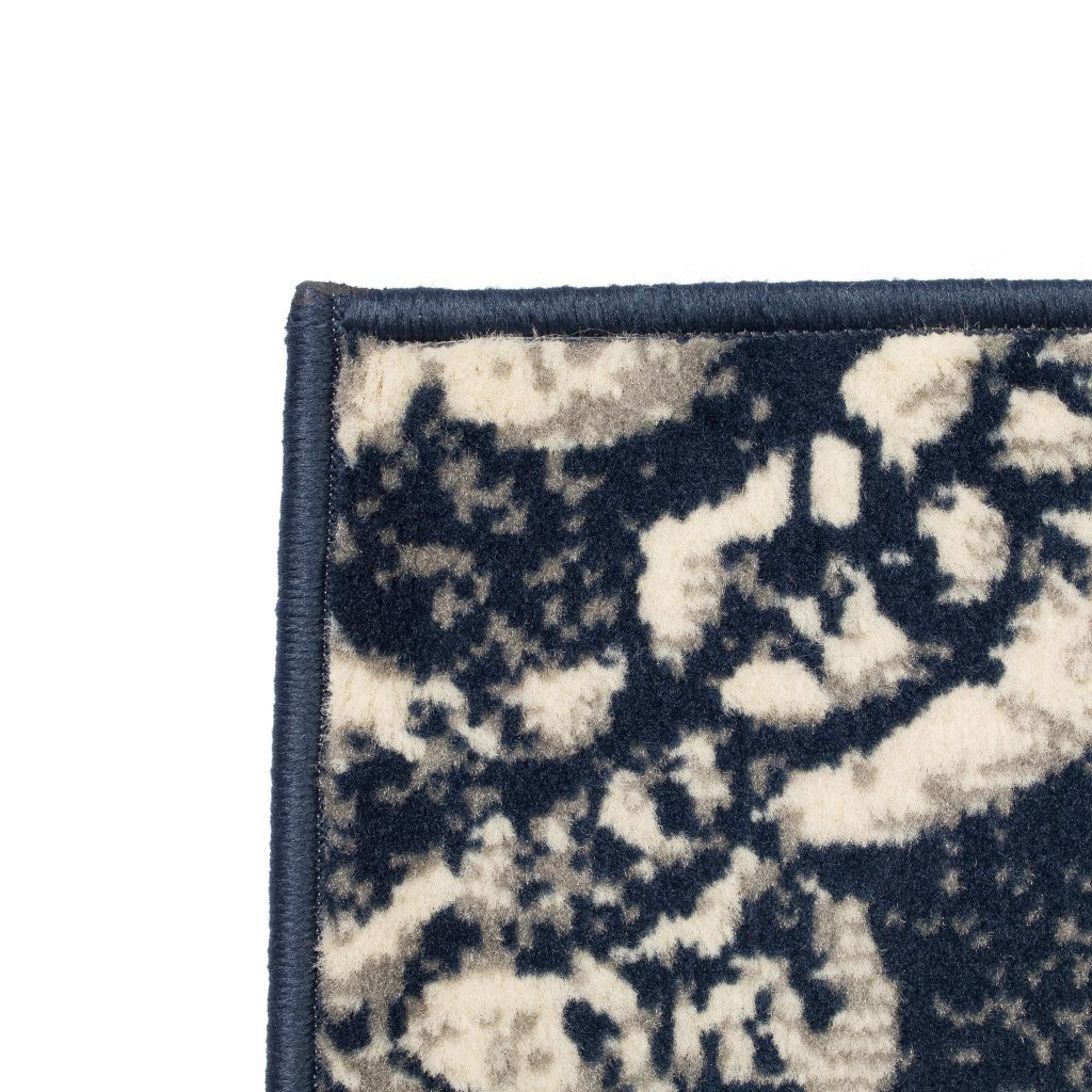 Covor modern design Paisley, 160 x 230 cm, bej/albastru