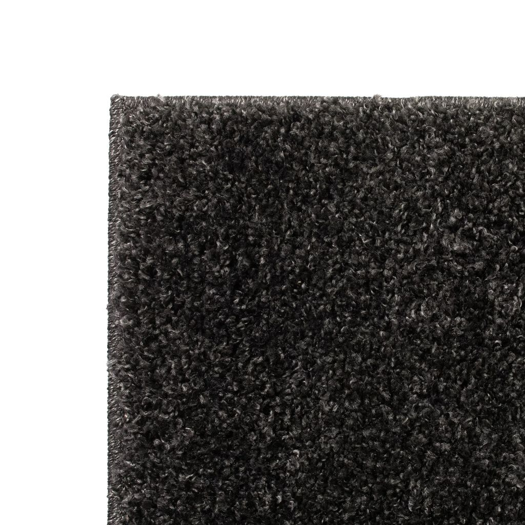 Covor cu fir lung, 80 x 150 cm, antracit
