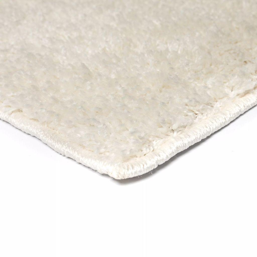 Covor cu fir lung 80 x 150 cm Crem