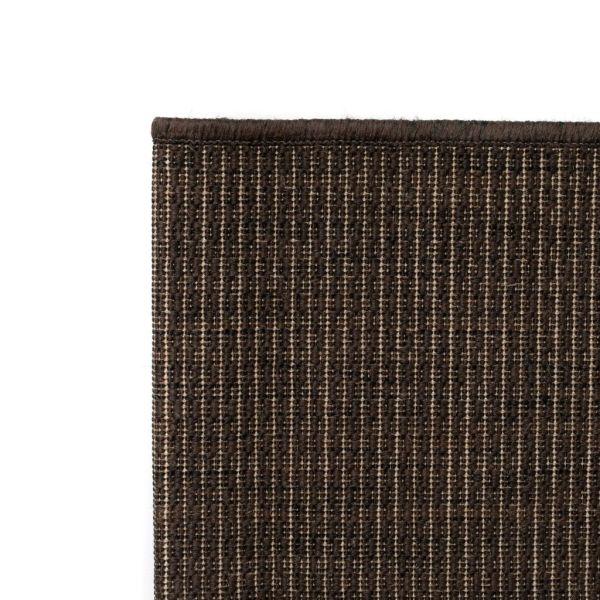 Covor aspect sisal de interior/exterior, 80 x 150 cm, maro