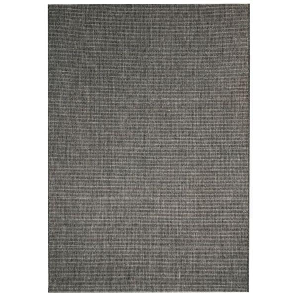 vidaXL Covor aspect sisal de interior/exterior, 80×150 cm, gri închis