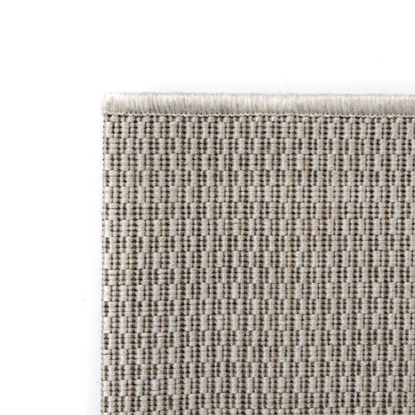 Covor aspect sisal de interior/exterior, 160 x 230 cm, gri