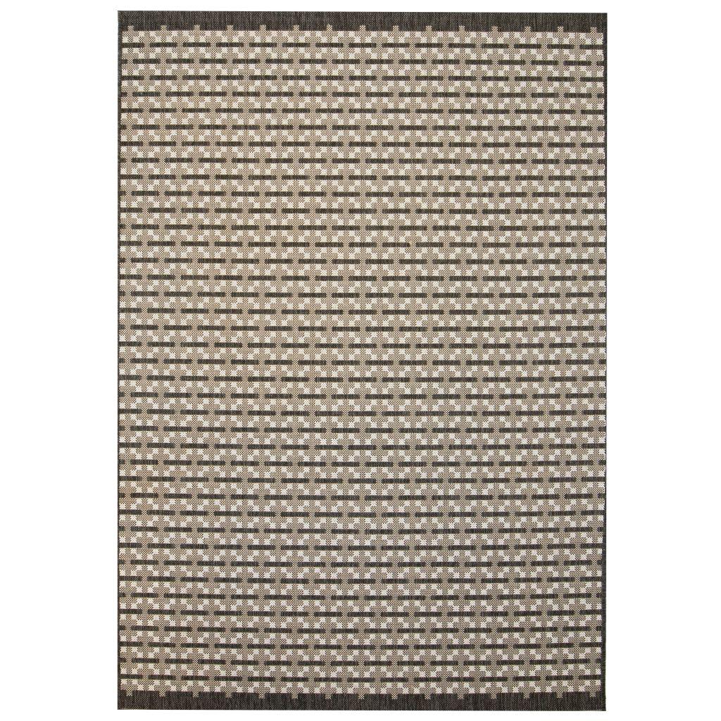 vidaXL Covor aspect sisal de interior/exterior, 160 x 230 cm, pătrate
