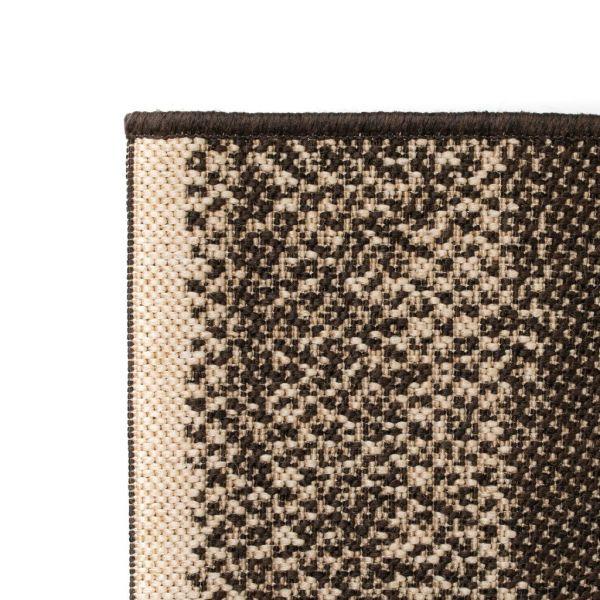 Covor aspect sisal de interior/exterior, 160 x 230 cm, dungi