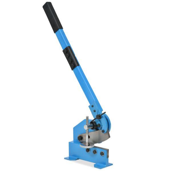 vidaXL Foarfecă cu pârghie pentru metal, 125 mm, Albastru