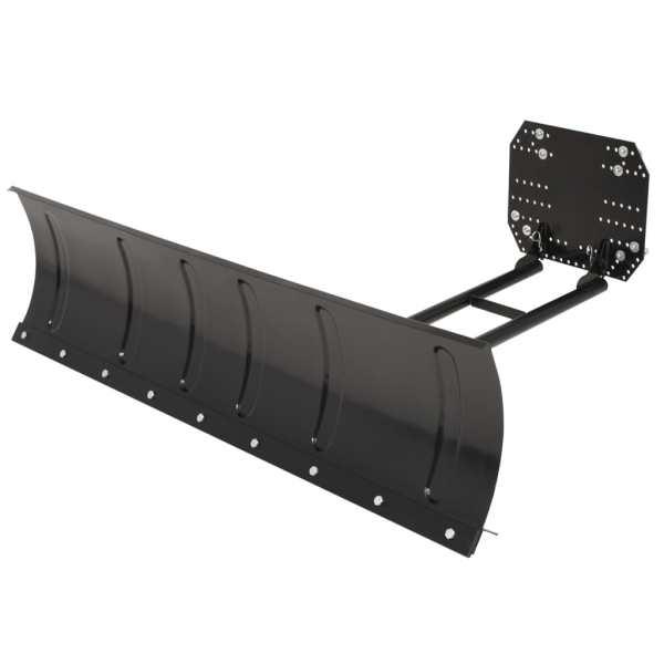 vidaXL Plug de zăpadă pentru ATV, 150 x 38 cm, Negru