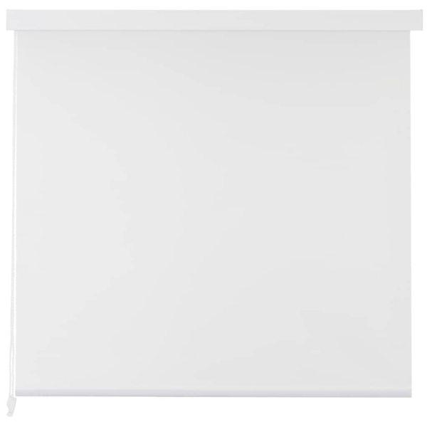 Roletă perdea de duș 140×240 cm Alb
